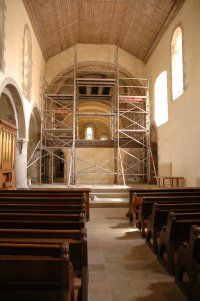 Tower Scaffold at Ewenny Priory